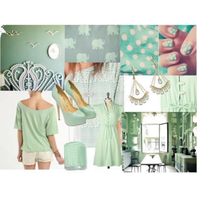 mintspiration: mint fashion