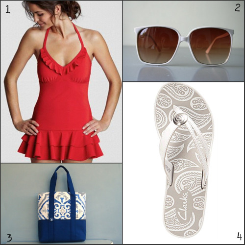 fourth of july fashion: beach outfit