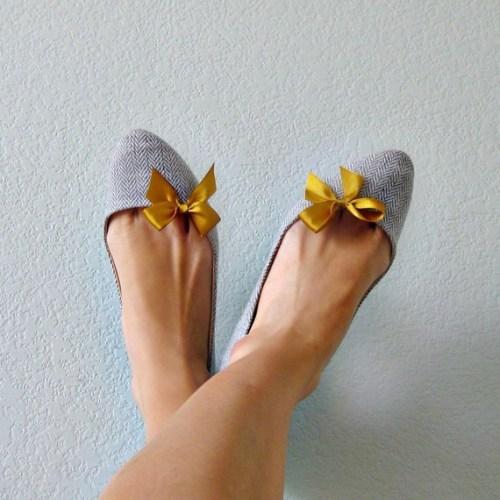 diy shoes: bow shoe clip the shop at no 144