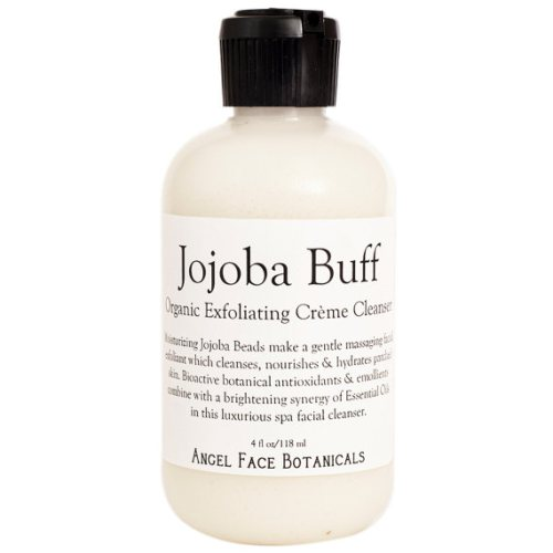 Jojoba Buff - Organic Exfoliating Crème Cleanser by Spa Goddess