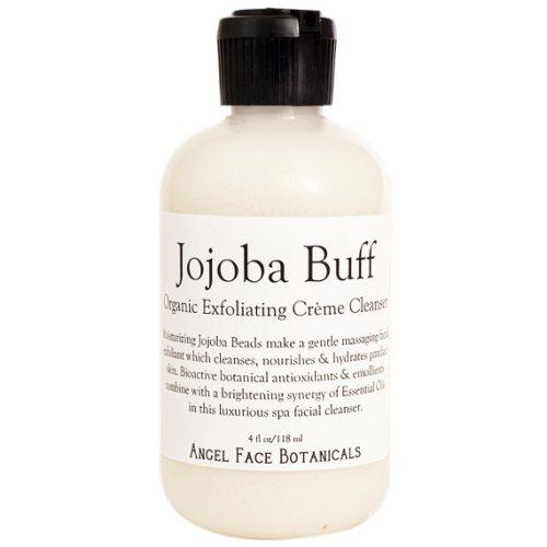 Jojoba Buff - Organic Exfoliating Crème Cleanser by Spa Goddess