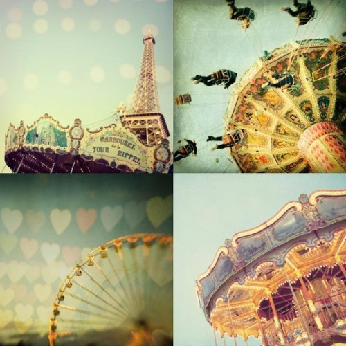 kids wall art: carnivale set of 4 by is photography