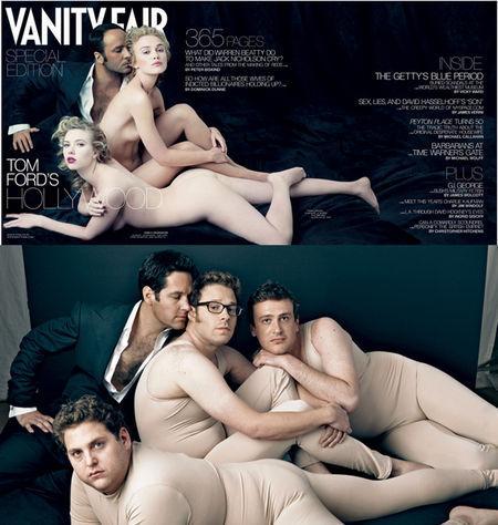 Seth Rogen Vanity Fair spoof