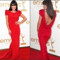 lea michele in marchesa
