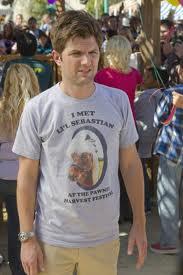 WTF Crush: Ben Wyatt in Lil Sebasitan shirt