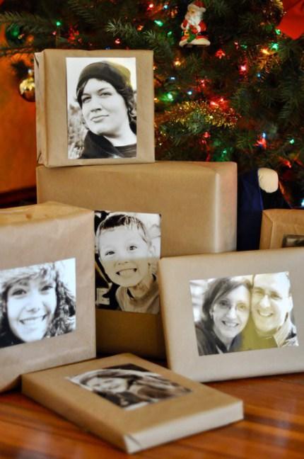 gift wrap inspiration: photos