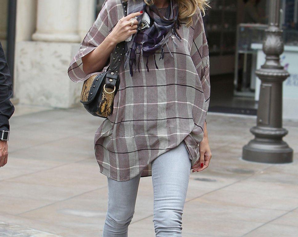 fashionable celebrity moms heidi klum