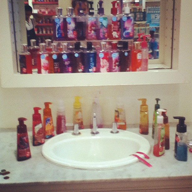 instagram in bath and body works