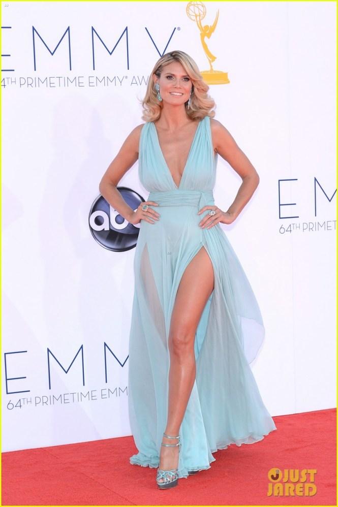 Heidi Klum 2012 Emmy fashion