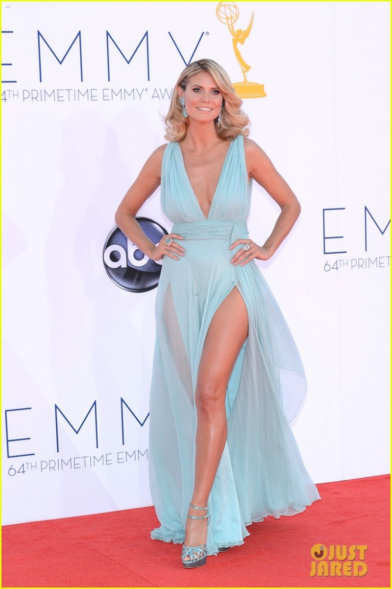 Heidi Klum 2012 Emmy fashion