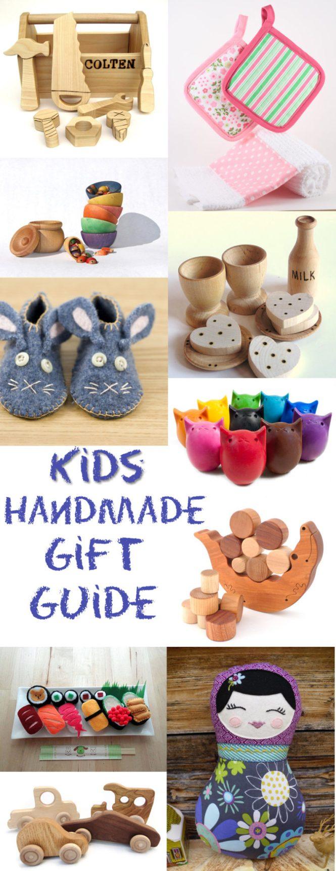 kids handmade gift guide