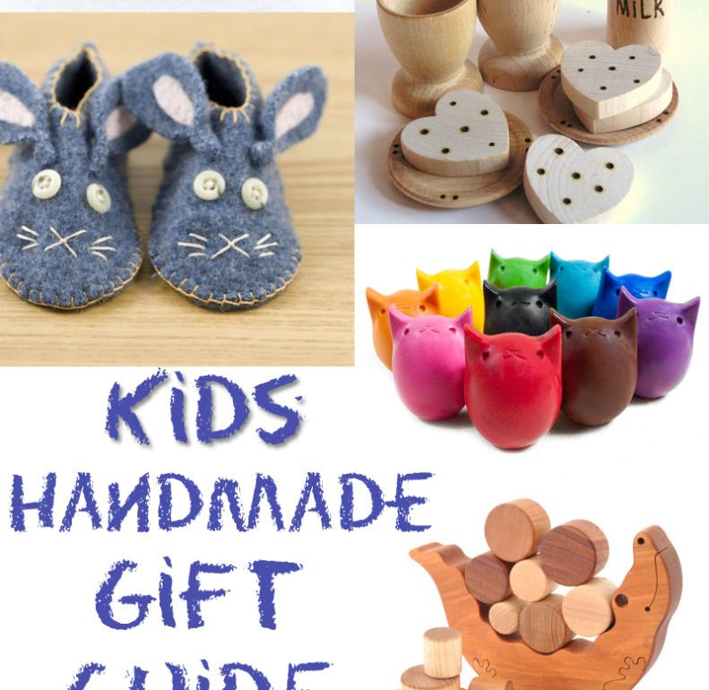kids handmade gift guide