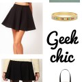 geek chic fashion via Cuddles and Chaos