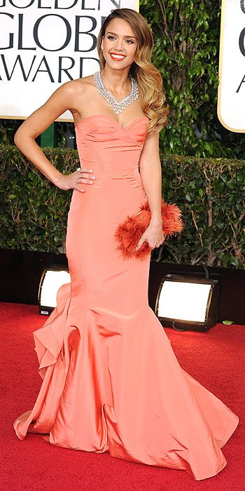 Jessica Alba 2013 Golden Globes