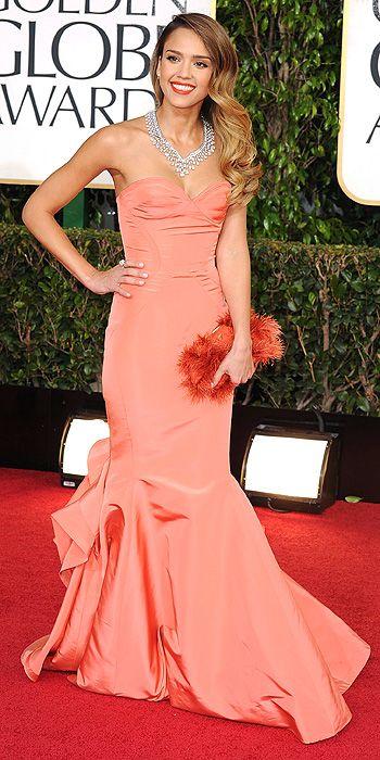 Jessica Alba Golden Globes 2013