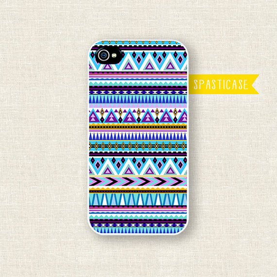 etsy finds geometric shapes: spasticase iphone case
