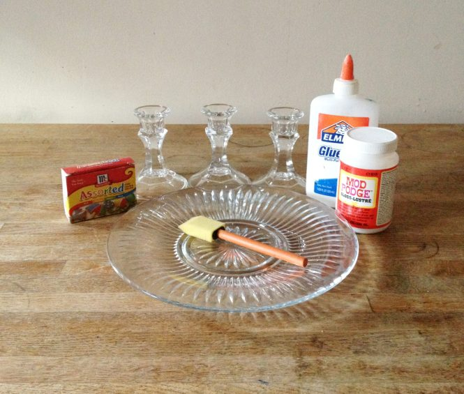 DIY colored glass supplies