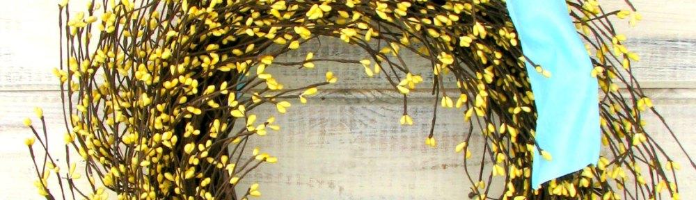 Etsy Finds: Wild Ridge Design wreath
