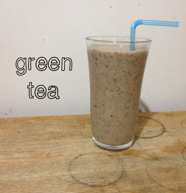 green tea smoothie recipe