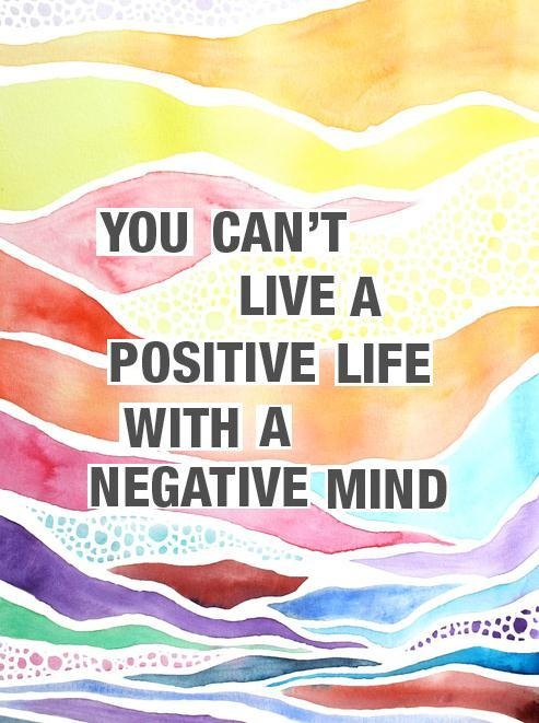 Inspirational quotes: positivity