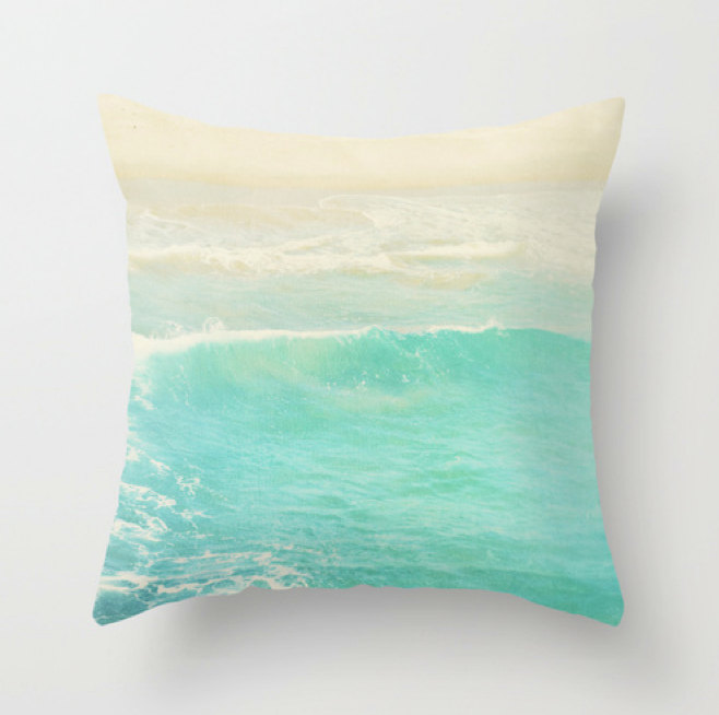 Etsy finds beach edition: beach pillow