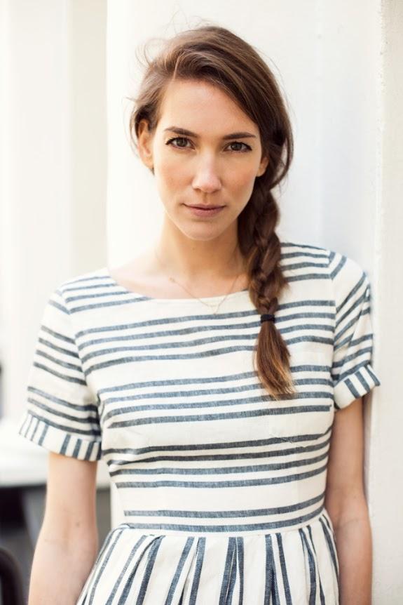 easy summer hairstyles: four strand side braid
