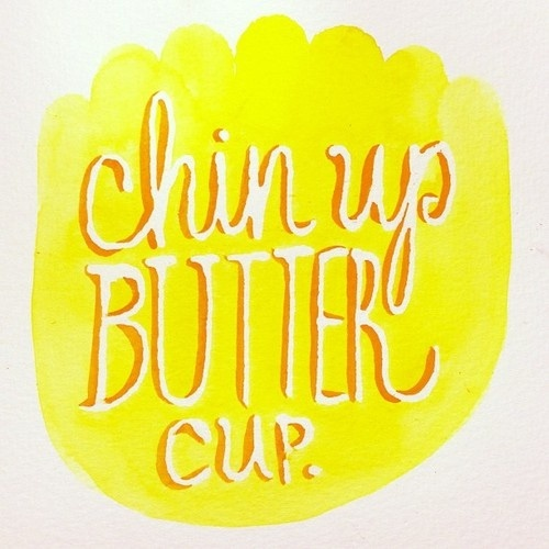 inspirational quotes: chin up