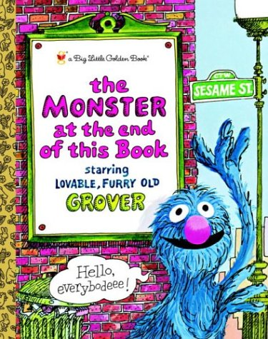 favorite toddler books: the monster at the end of this book