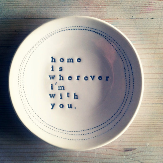 etsy finds: word plate