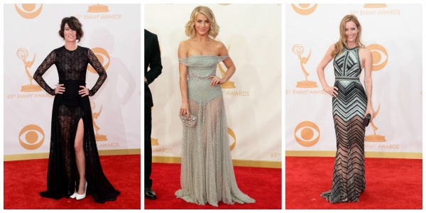 2013 Emmy fashion trend: sheer bottoms