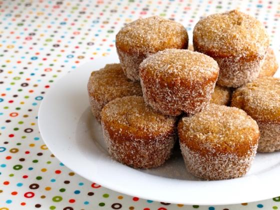 apple recipes: apple cider donut holes