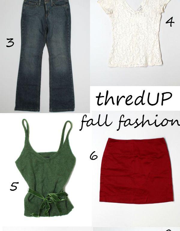 thredUP fall fashion