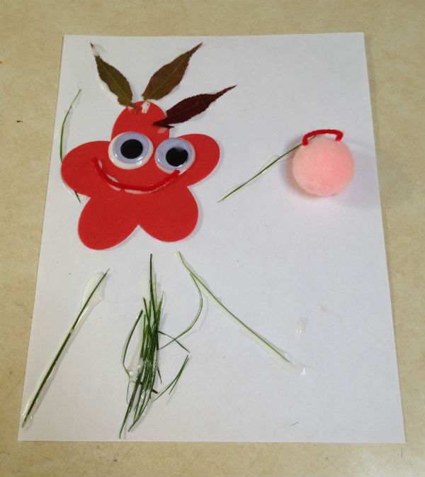 nature craft for kids | Cuddles and Chaos
