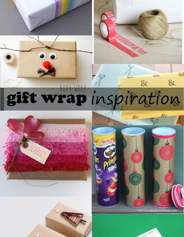 gift wrap inspiration