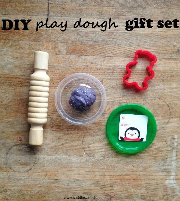 DIY play dough gift set