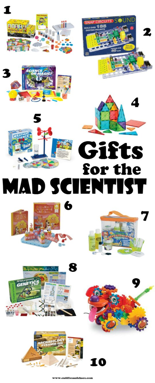 Kids Gift Guide: science gifts for kids