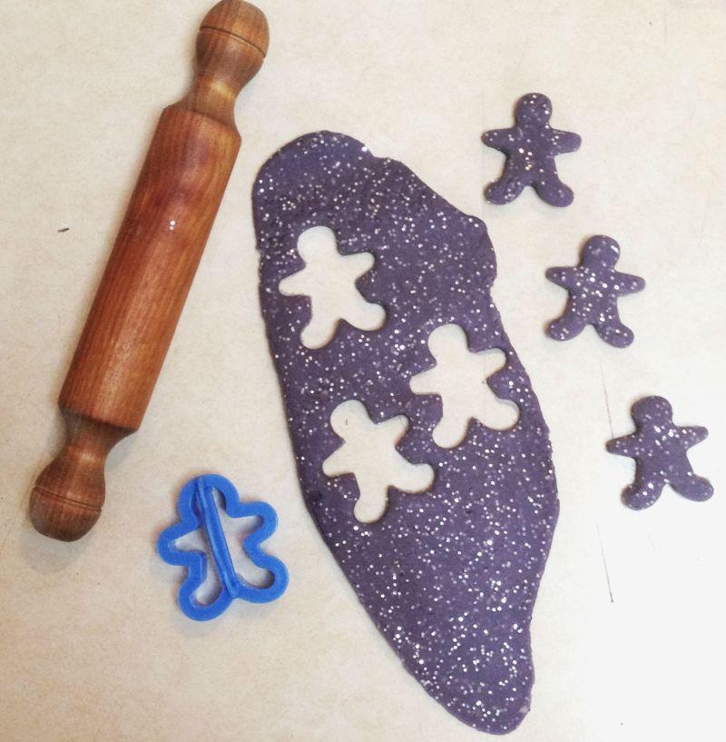 homemade play dough cookies