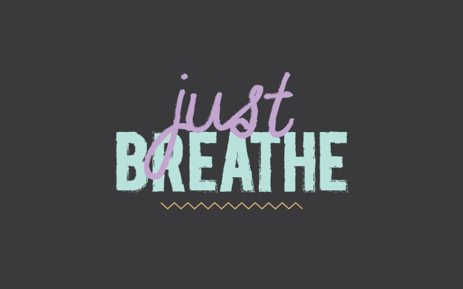 just breathe free desktop wallpaper by breanna rose