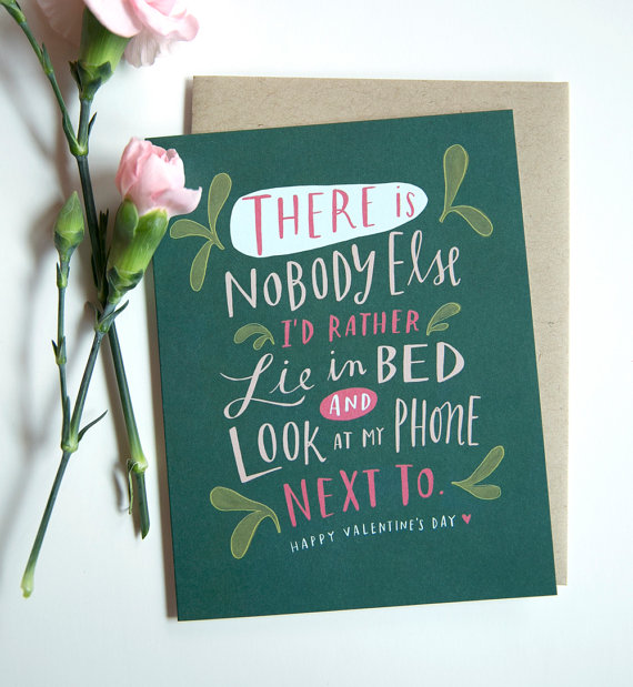 etsy finds: emily mcdowell draws valentine's day card