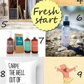 etsy finds: fresh start