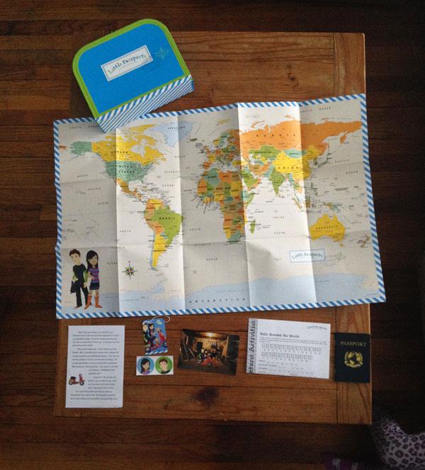 little passports review:  contents