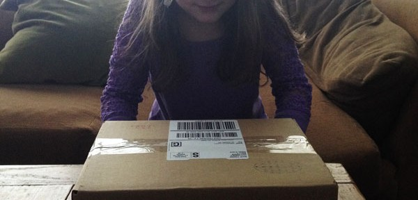 little passpports review: package arrives in the mail