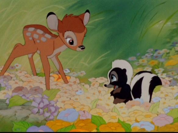 Bambi in spring