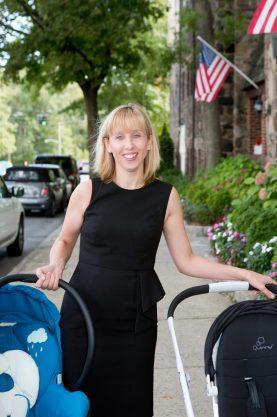 Momtrepreneur Julie McCaffrey of BabyNav Baby Planners
