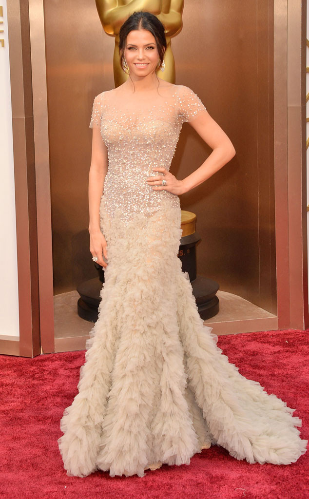 Hot Moms Oscars 2014 fashion: Jenna Dewan-Tatum