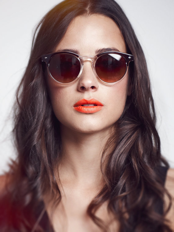 vintage finds: round Clubmaster Sunglasses - The Drifter via She Vamps