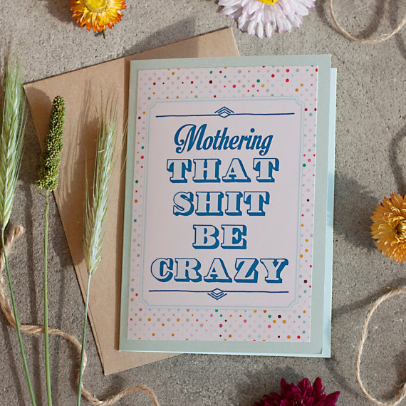Rena Franco Design: mothering card