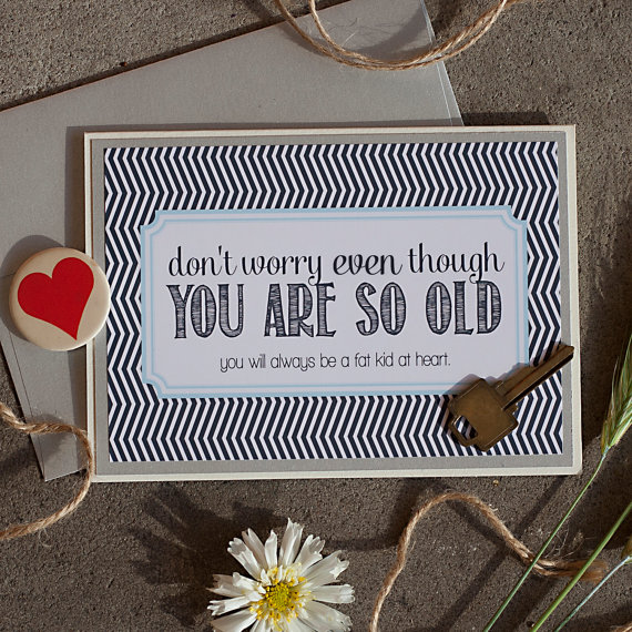 Rena Franco Design: you're old card