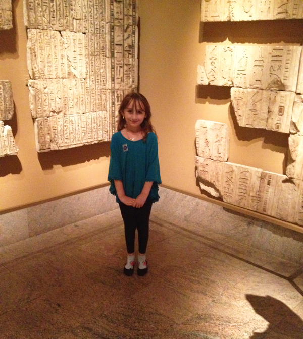 the met with kids: hieroglyphics