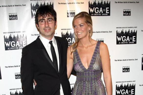 WTF Crush: John Oliver and wife